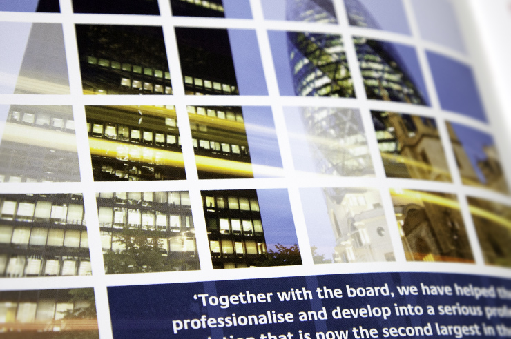 Annual report - Design and print.